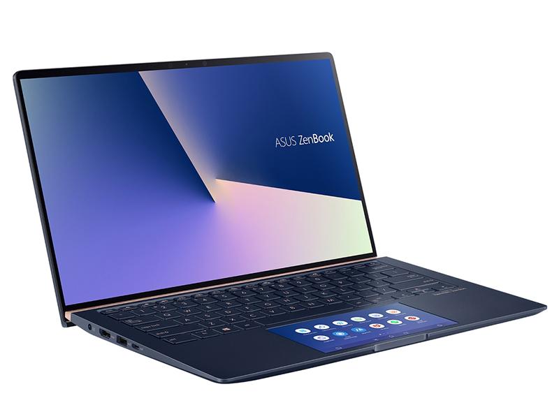Ноутбук ASUS Zenbook UX434FQ-A5038R 90NB0RM5-M01670 (Intel Core i7-10510U 1.8 GHz/16384Mb/512Gb SSD/nVidia GeForce MX350 2048Mb/Wi-Fi/Bluetooth/Cam/14.0/1920x1080/Windows 10 Pro 64-bit)