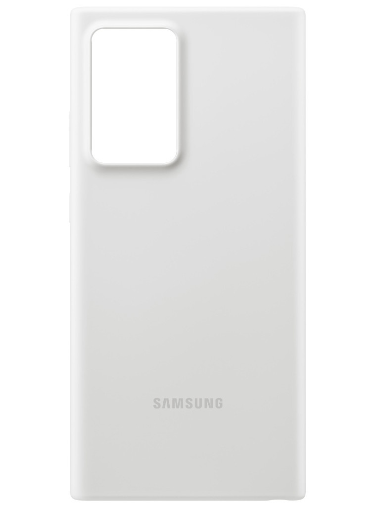 Чехол для Samsung Galaxy Note 20 Ultra Silicone Cover White EF-PN985TWEGRU