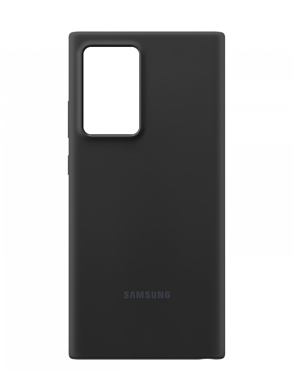 Чехол для Samsung Galaxy Note 20 Ultra Silicone Cover Black EF-PN985TBEGRU