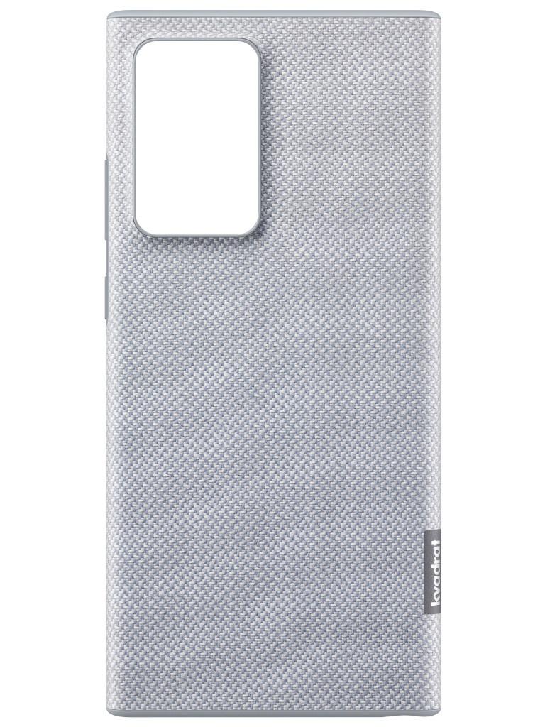 Чехол для Samsung Galaxy Note 20 Ultra Kvadrat Cover Grey EF-XN985FJEGRU чехол samsung ef aa305 для