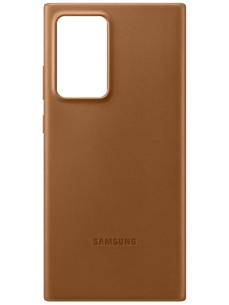 Чехол для Samsung Galaxy Note 20 Ultra Leather Cover Brown EF-VN985LAEGRU