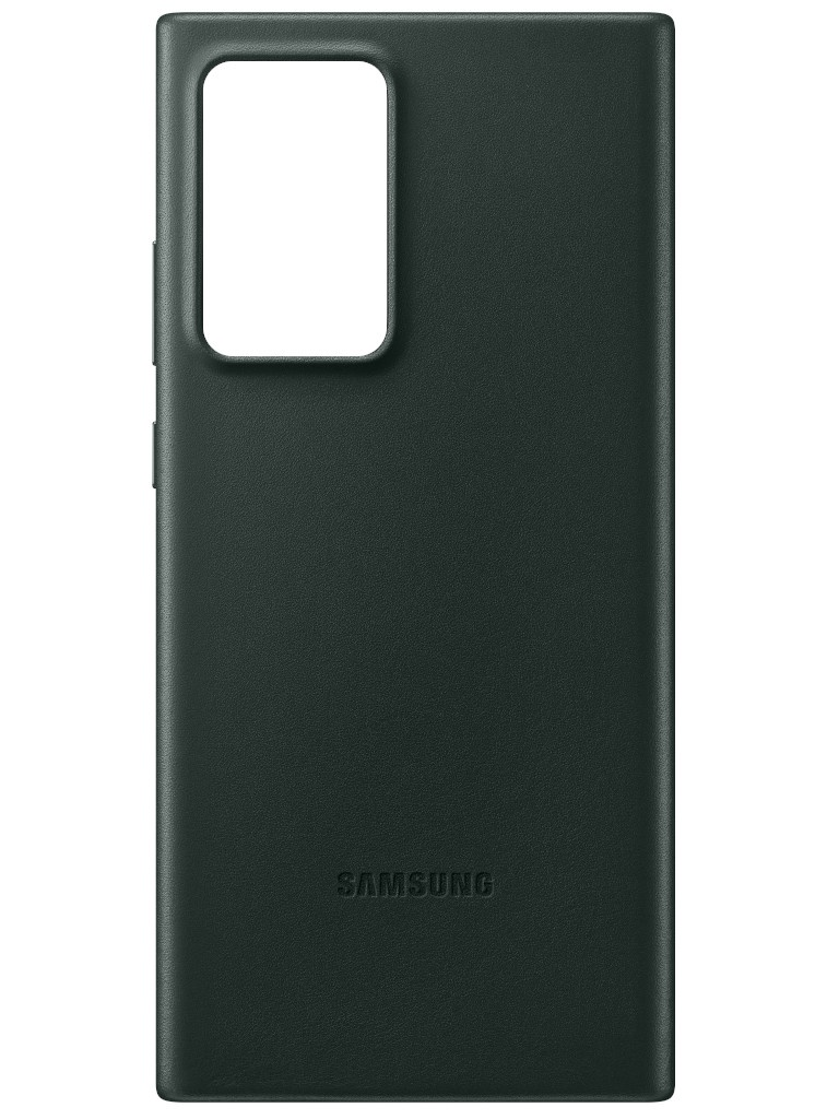 Чехол для Samsung Galaxy Note 20 Ultra Leather Cover Green EF-VN985LGEGRU