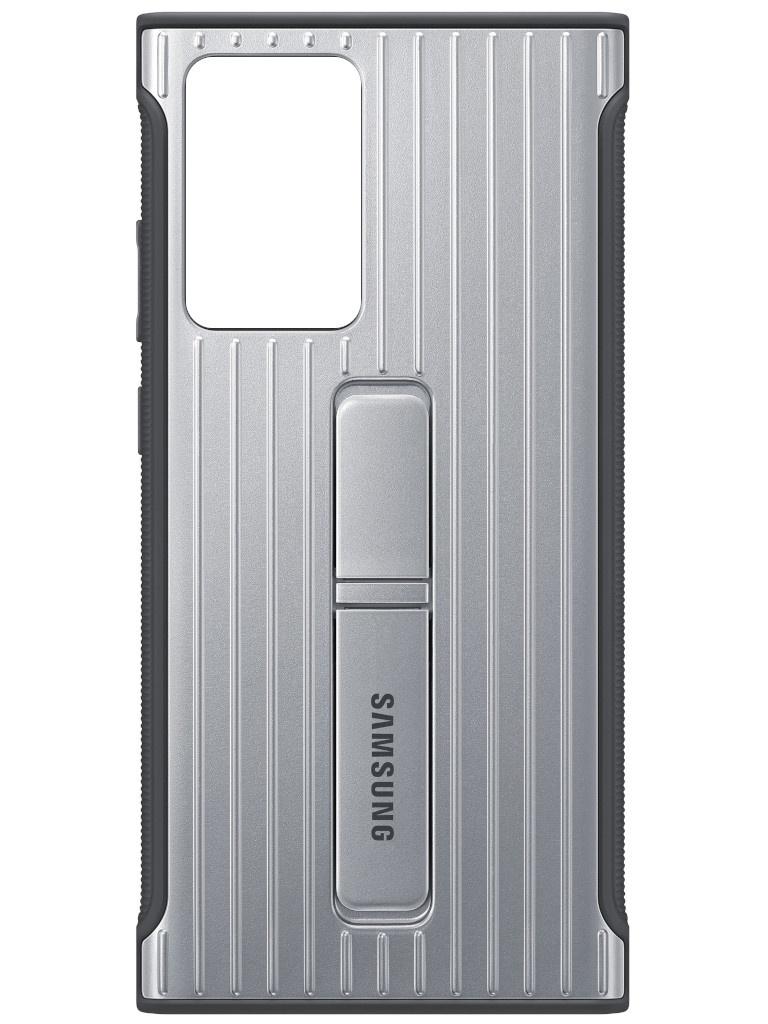 Чехол для Samsung Galaxy Note 20 Ultra Protective Standing Cover Silver EF-RN985CSEGRU