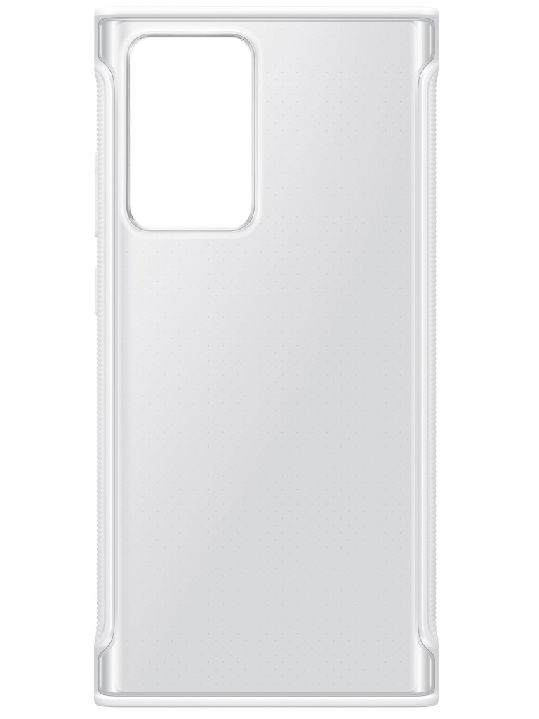Чехол для Samsung Galaxy Note 20 Ultra Clear Protective Cover Transparent-White EF-GN985CWEGRU
