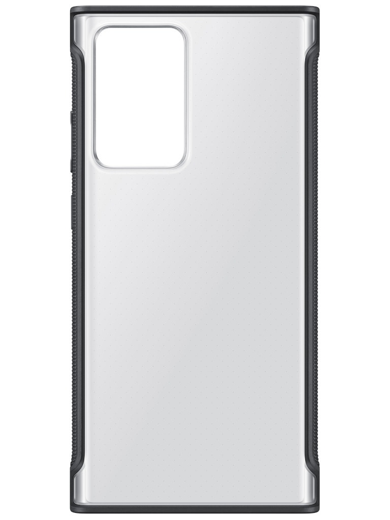 Чехол для Samsung Galaxy Note 20 Ultra Clear Protective Cover Transparent-Black EF-GN985CBEGRU