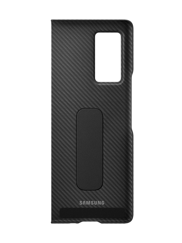Чехол для Samsung Galaxy Z Fold 2 Aramid Standing Cover Black EF-XF916SBEGRU