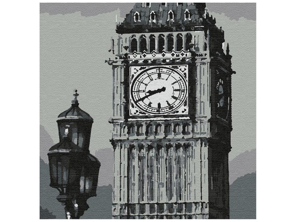 Картина по номерам Котеин Лондон 30x30cm KHM0059