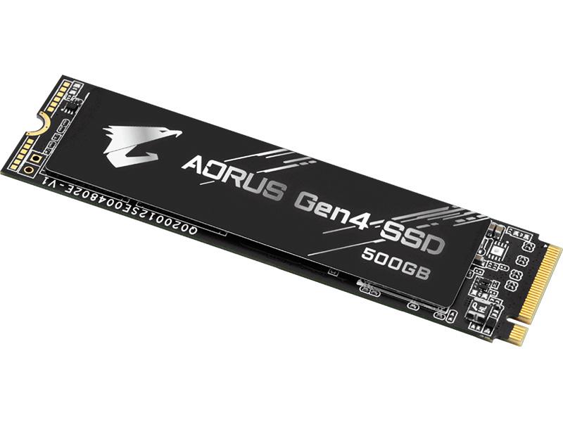 Твердотельный накопитель GigaByte Aorus 500Gb GP-AG4500G
