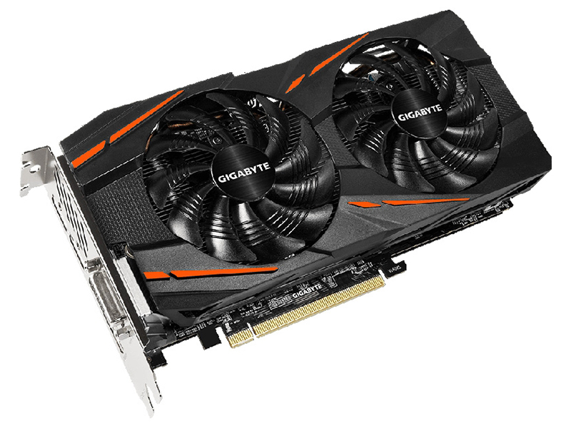 Видеокарта GigaByte Radeon RX 570 1244Mhz PCI-E 3.0 8192Mb 7000Mhz 256 bit HDMI DP HDCP GV-RX570GAMING-8GD V2.0