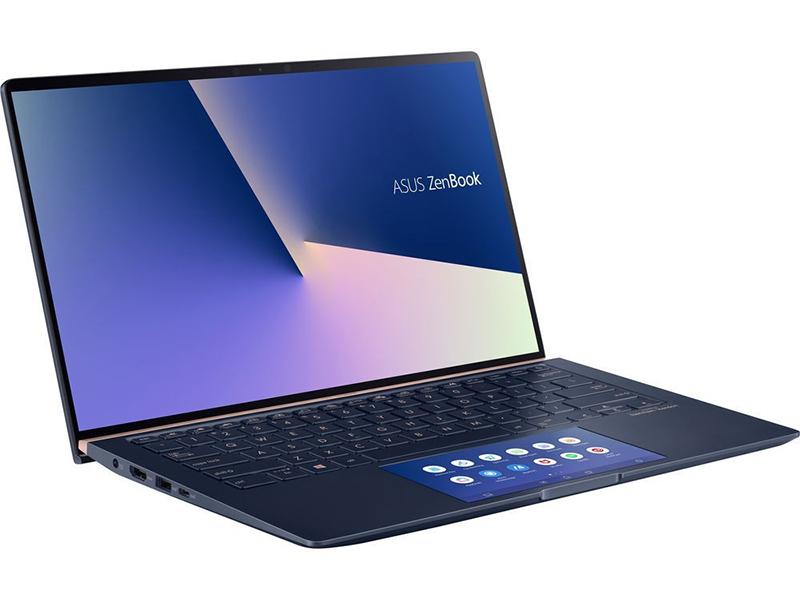Ноутбук ASUS Zenbook UX434FQ-A6073R 90NB0RM1-M01660 (Intel Core i7-10510U 1.8 GHz/16384Mb/512Gb SSD/nVidia GeForce MX350 2048Mb/Wi-Fi/Bluetooth/Cam/14.0/1920x1080/Windows 10 Pro 64-bit)