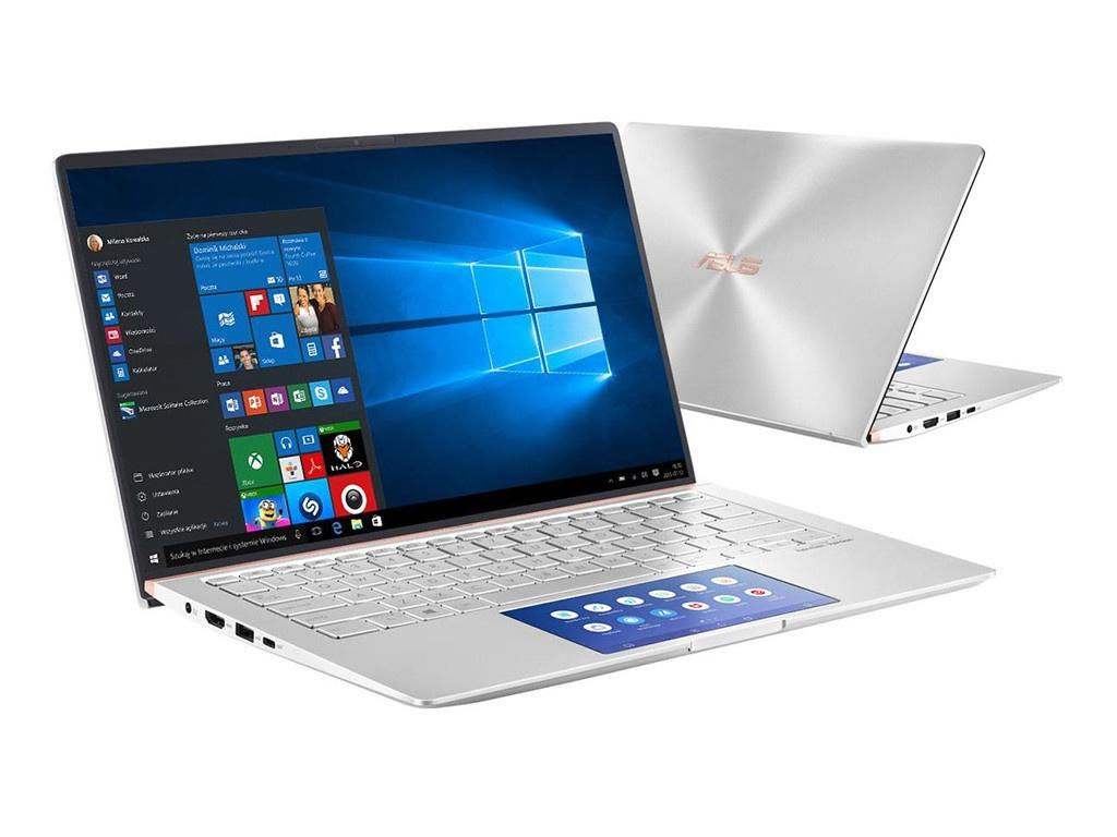 Ноутбук ASUS Zenbook UX434FLC-A5290T 90NB0MP6-M11890 (Intel Core i5-10210U 1.6 GHz/16384Mb/512Gb SSD/nVidia GeForce MX250 2048Mb/Wi-Fi/Bluetooth/Cam/14.0/1920x1080/Windows 10 Home 64-bit)