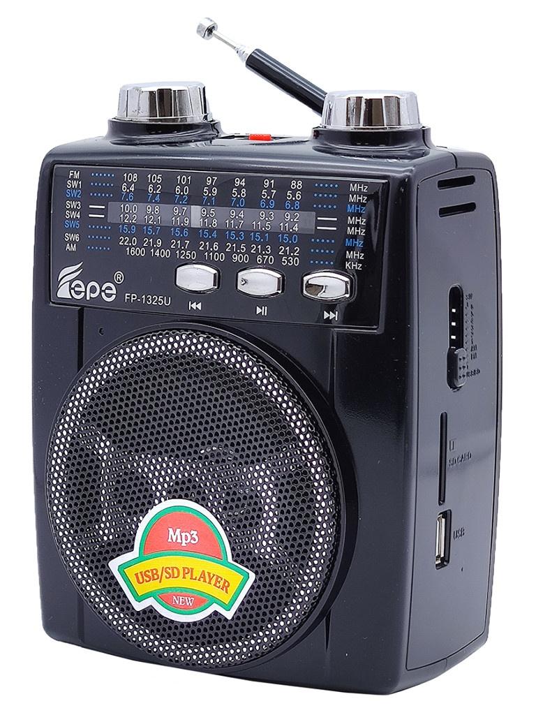 Радиоприемник Fepe FP-1325U Black