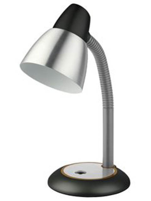 Настольная лампа Эра E27 40W Black N-115