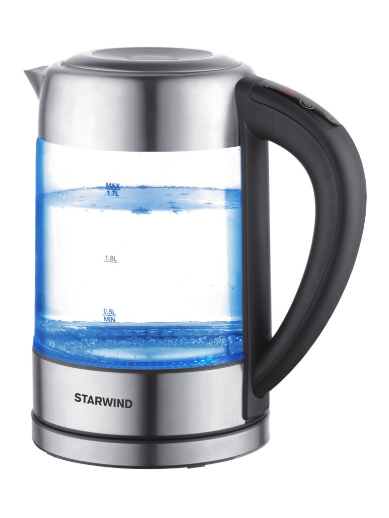 Чайник Starwind SKG5213 Black-Silver