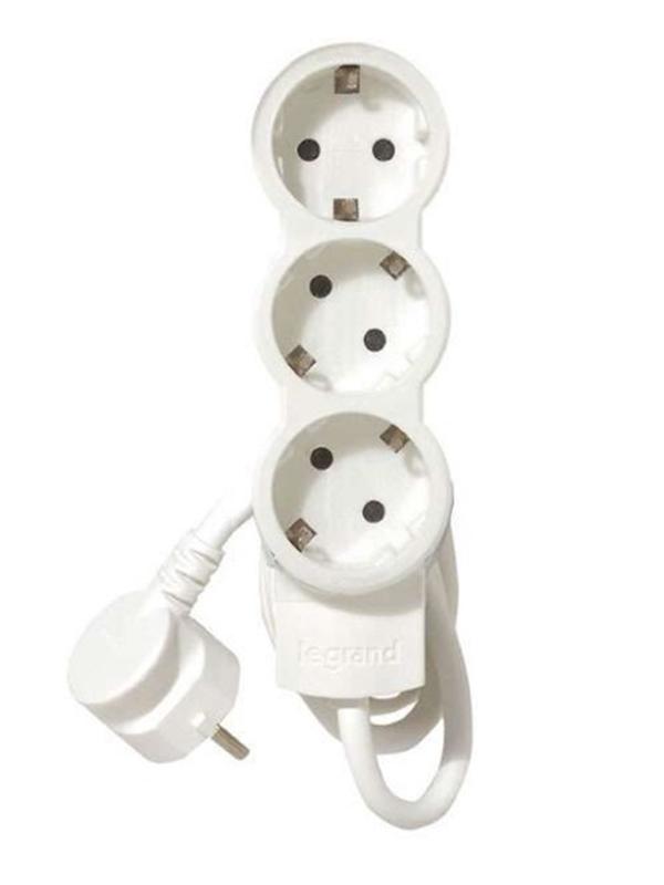 Сетевой фильтр Legrand LEG 3 Sockets 5m White 695003