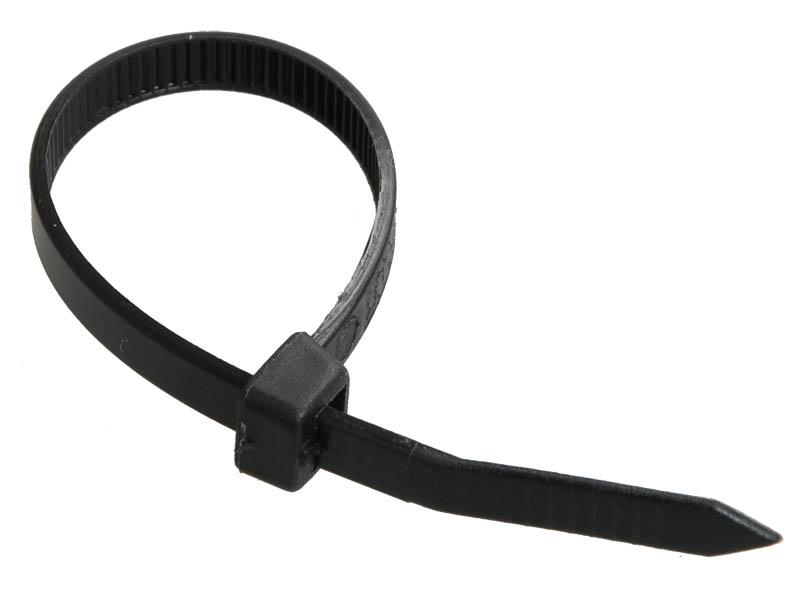 Стяжки IEK 4.8х300mm 100шт Black UHH32-D048-300-100