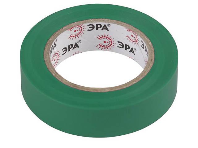 Изолента Эра 15mm х 10m Green 43928/43911