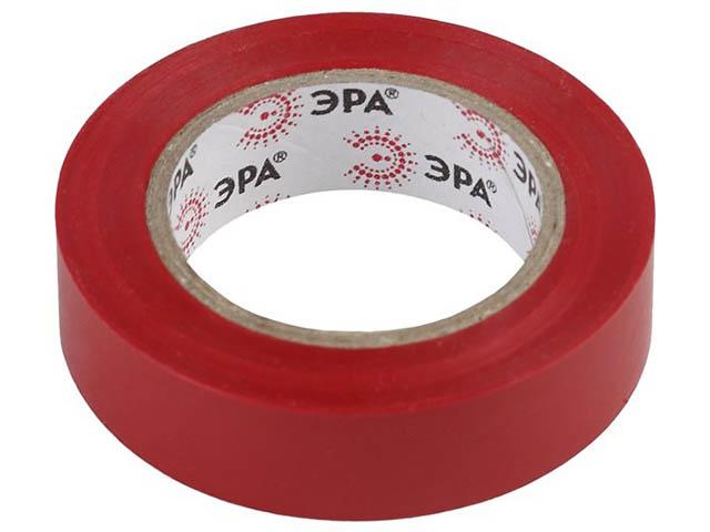 Изолента Эра 15mm х 10m Red 43867/43850
