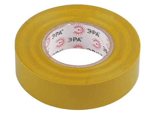 Изолента Эра 15mm х 20m Yellow 43768/43751