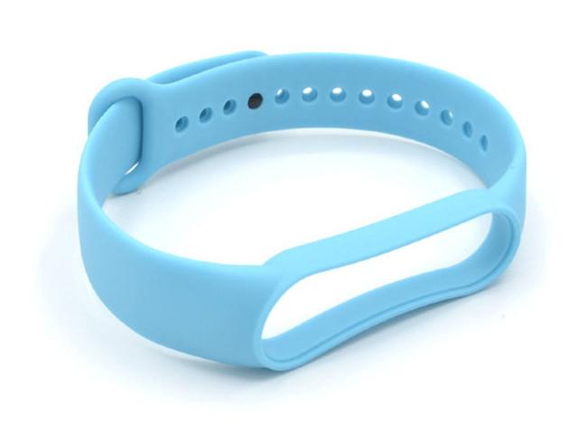 Aксессуар Ремешок Innovation для Mi Band 5 Silicone Light Blue 17858