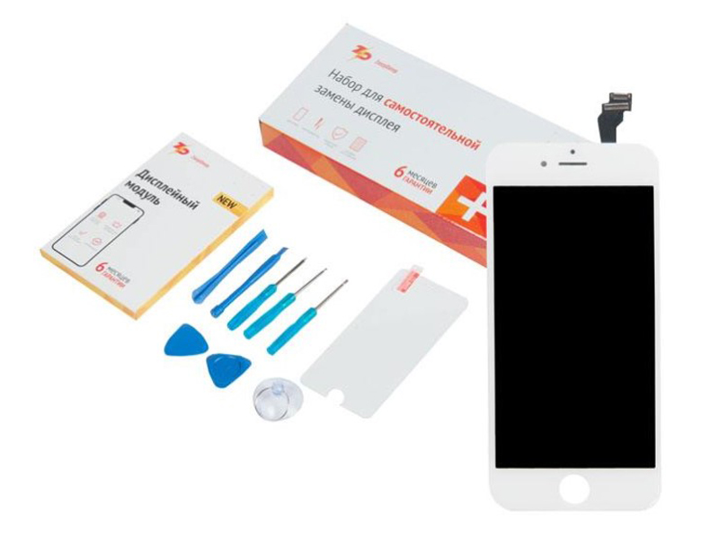 Инструмент для самостоятельного ремонта телефона ZeepDeep APPLE iPhone 6 White 650644