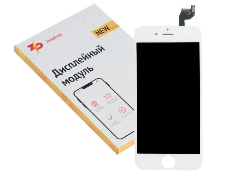 Фото - Дисплей ZeepDeep Premium для APPLE iPhone 6S RP White в сборе с тачскрином 721262 дисплей zeepdeep premium для apple iphone 7 rp white в сборе с тачскрином 721270