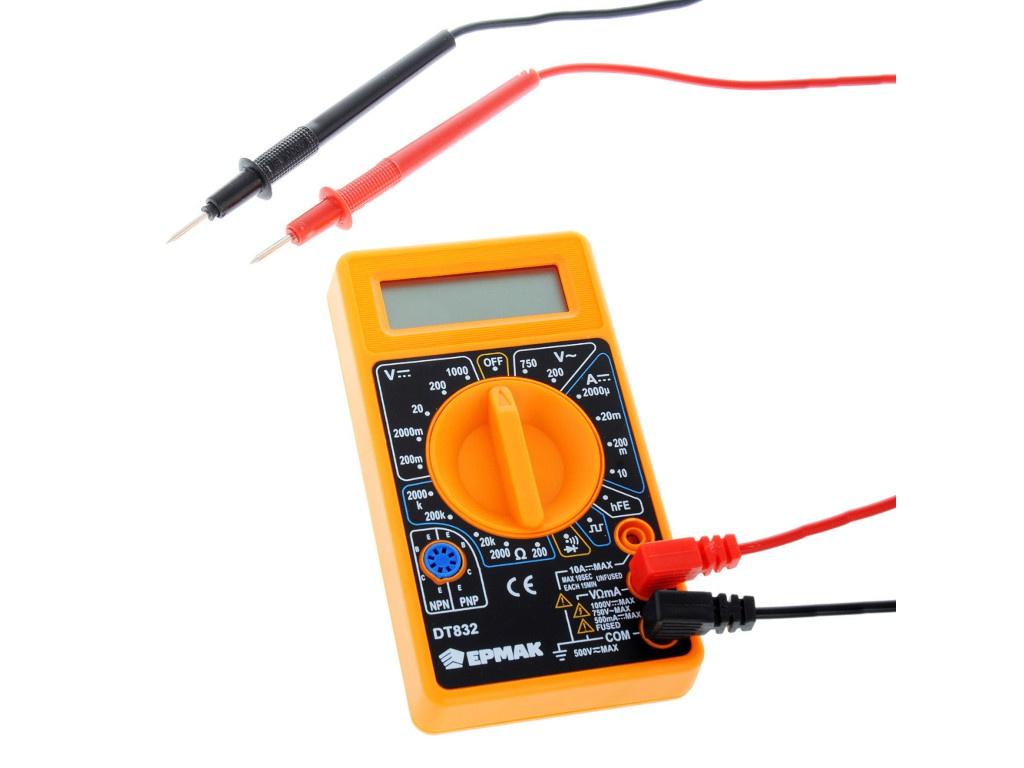 Мультиметр Ермак DT-832 660-004