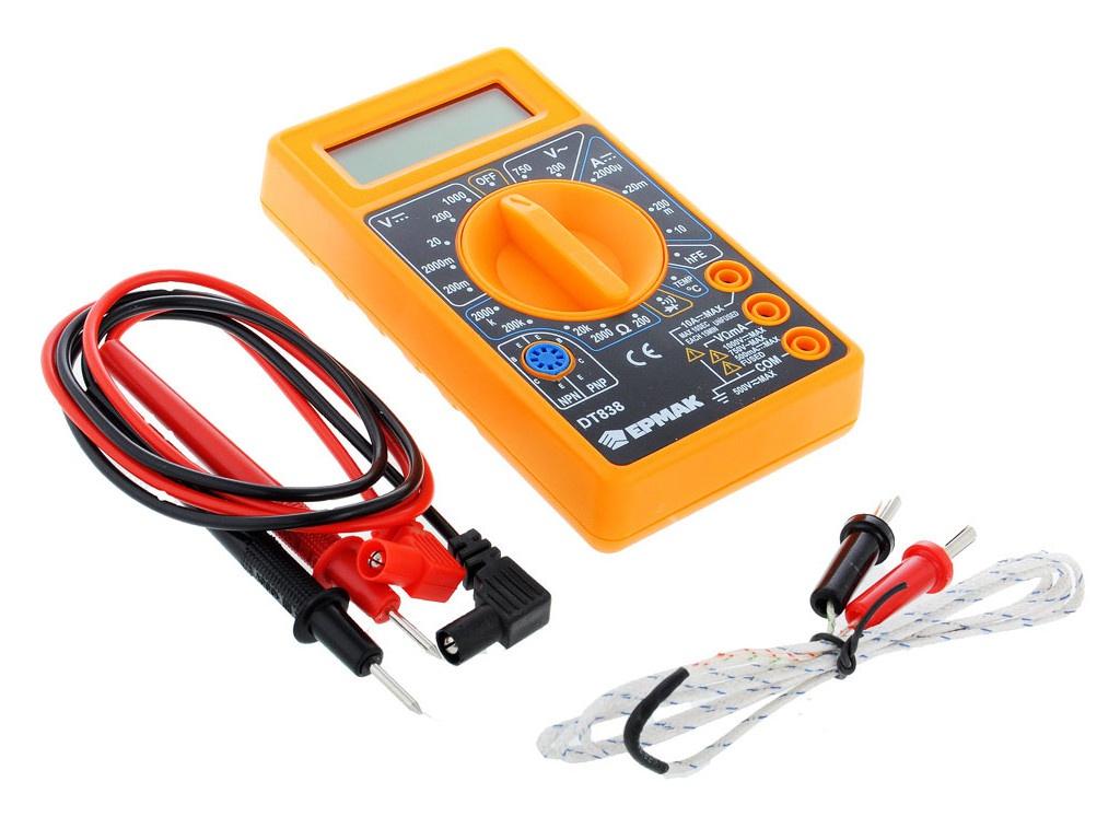 Мультиметр Ермак DT-838 660-005