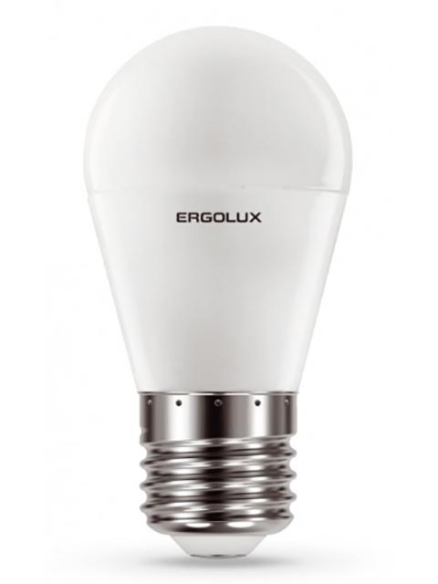 Лампочка Ergolux LED-G45-11W-E27-4K 13631