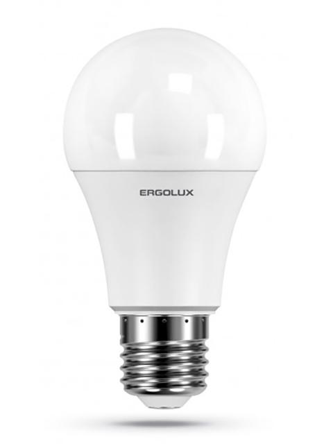 Лампочка Ergolux LED-A60-10W-E27-6K 12879