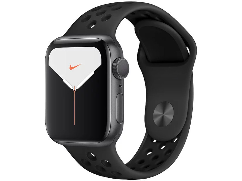 Умные часы APPLE Watch Nike Series 5 40mm Space Grey Aluminium with Anthracite-Black Sport Band MX3T2RU/A Выгодный набор + серт. 200Р!!!