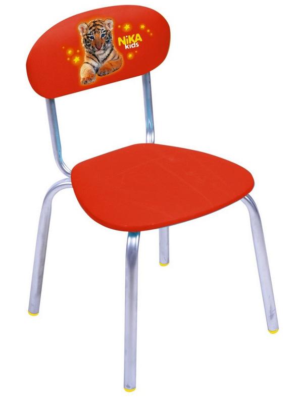 Детский стул Nika СТУ6 С тигренком Red