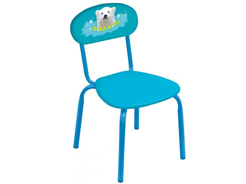 Детский стул Nika СТУ6 С белым медвежонком Turquoise