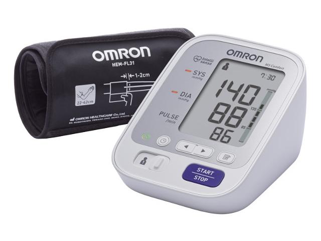 Тонометр Omron M3 Comfort HEM-7134-ALRU с адаптером