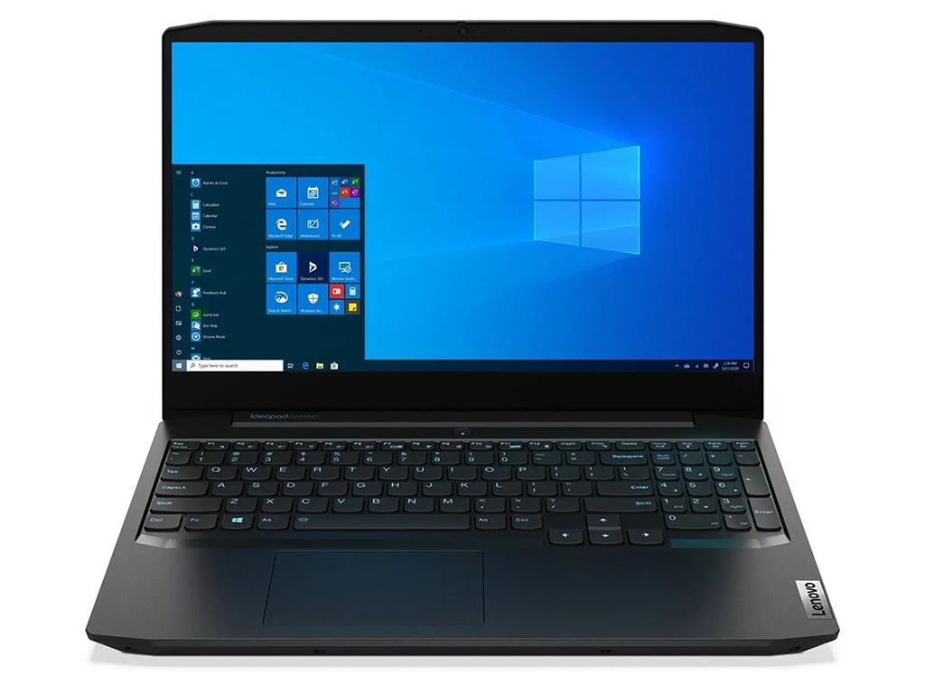 Фото - Ноутбук Lenovo IdeaPad Gaming 3 15IMH05 81Y40096RK (Intel Core i7-10750H 2.6 GHz/8192Mb/512Gb SSD/nVidia GeForce GTX 1650 4096Mb/Wi-Fi/Bluetooth/Cam/15.6/1920x1080/DOS) ноутбук lenovo ideapad gaming l340 15irh intel core i5 9300h 2400mhz 15 6 1920x1080 8gb 128gb ssd 1000gb hdd dvd нет nvidia geforce gtx 1050 3gb wi fi bluetooth dos 81lk009xrk black