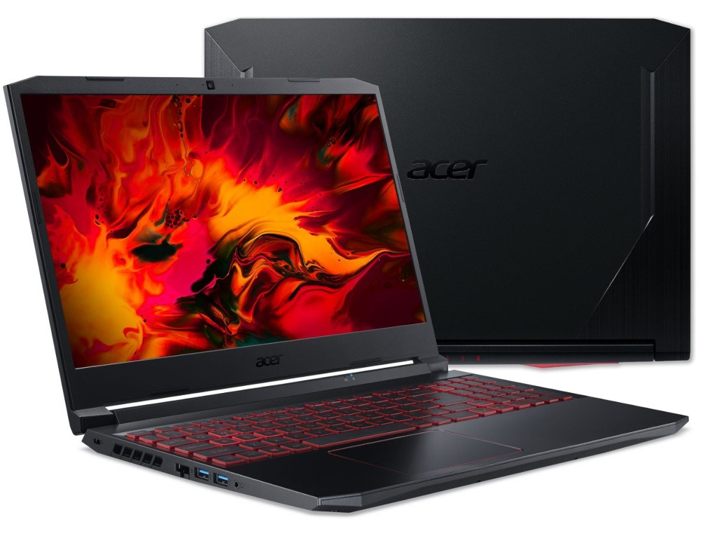 Ноутбук Acer Gaming AN515-44-R64G NH.Q9HER.008 (AMD Ryzen 7 4800H 2.9 GHz/12288Mb/1024Gb SSD/nVidia GeForce GTX 1650Ti 4096Mb/Wi-Fi/Bluetooth/Cam/15.6/1920x1080/DOS)
