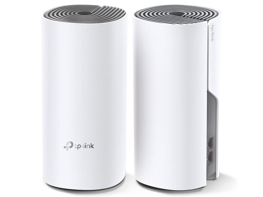 Wi-Fi роутер TP-LINK Deco E4 2-pack - Mesh система Выгодный набор + серт. 200Р!!!