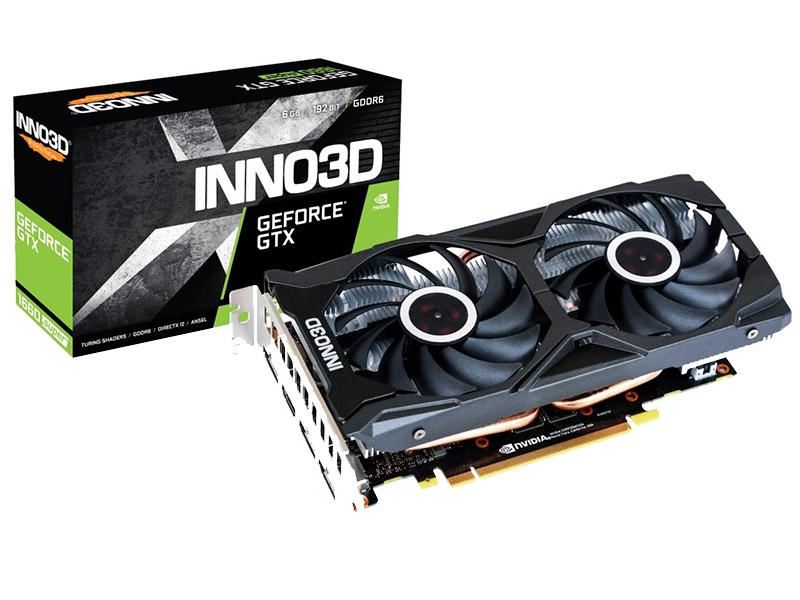 Видеокарта Inno3D GeForce GTX 1660 Super Twin X2 1530Mhz PCI-E 3.0 6144Mb 14000Mhz 192 bit HDMI DP DVI-D N166S2-06D6-1712VA15L Выгодный набор + серт. 200Р!!!
