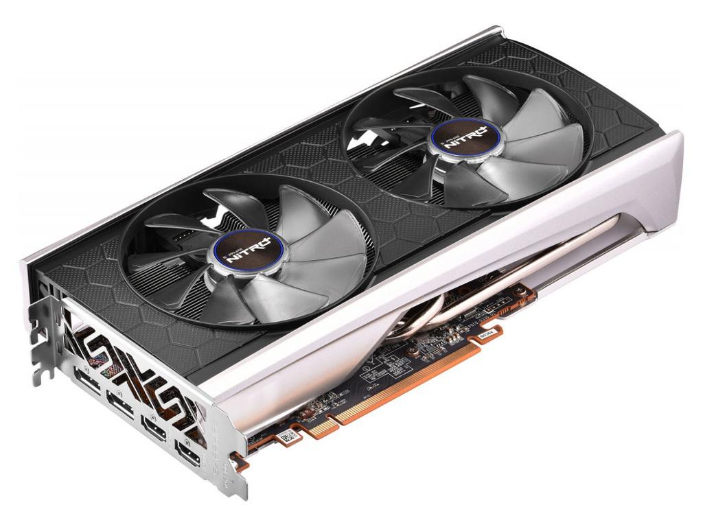 Видеокарта Sapphire Radeon Nitro+ RX 5500 XT SE Edition 1737Mhz PCI-E 3.0 8192Mb 14400Mhz 128 bit 2xHDMI 2xDP HDCP 11295-05-20G Выгодный набор + серт. 200Р!!!