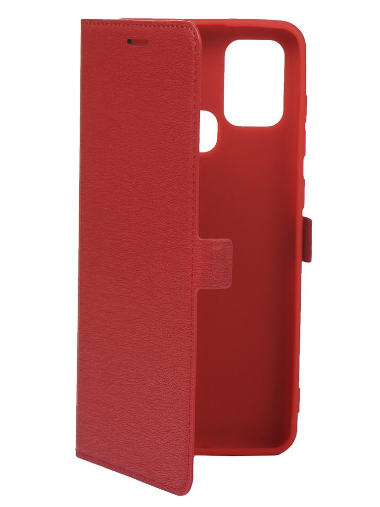 Чехол Krutoff для Samsung Galaxy A21S A217 Red 10470