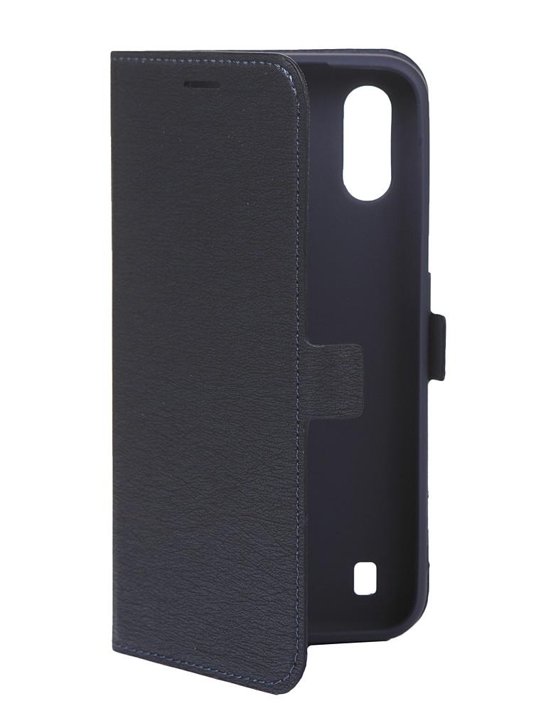 Чехол Krutoff для Samsung Galaxy A01 A015 Blue 10401