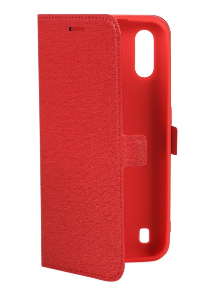 Чехол Krutoff для Samsung Galaxy A01 A015 Red 10449