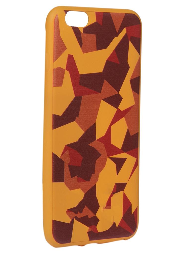 Чехол Krutoff для APPLE iPhone 6/6S Plus Polygonal Military Colour 10334