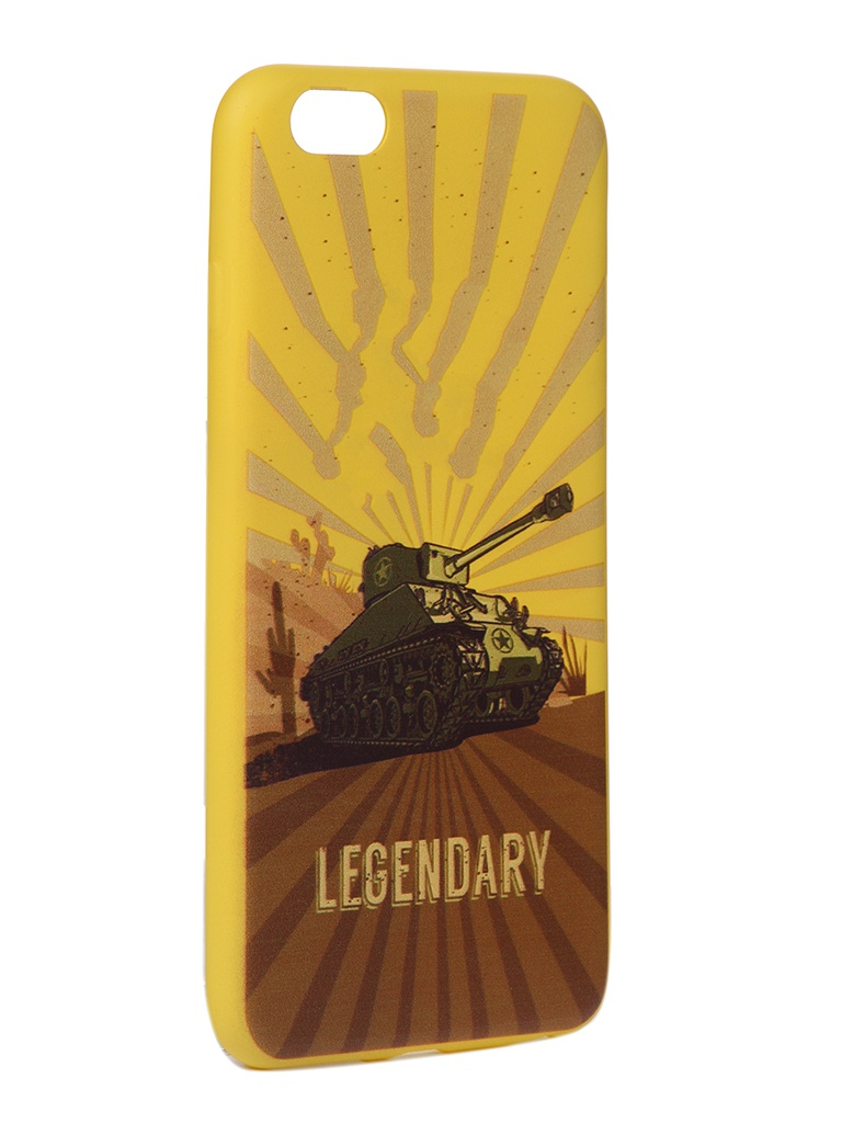 Чехол Krutoff для APPLE iPhone 6/6S Plus Blitz Legendary 2 10316