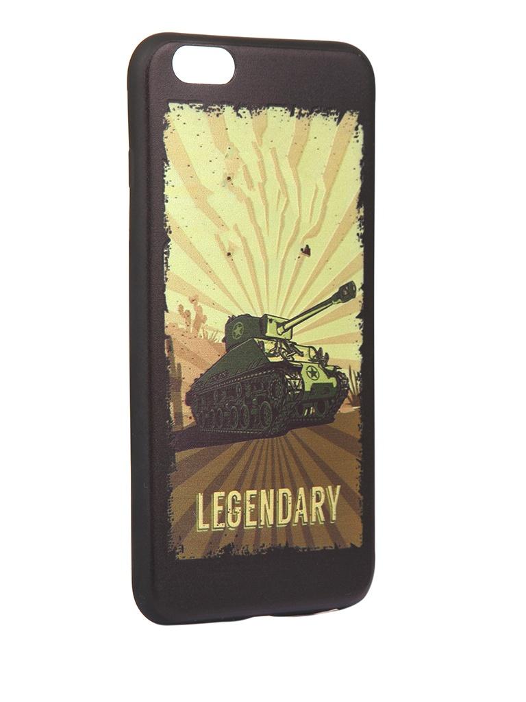 Чехол Krutoff для APPLE iPhone 6/6S Plus Blitz Legendary 1 10315