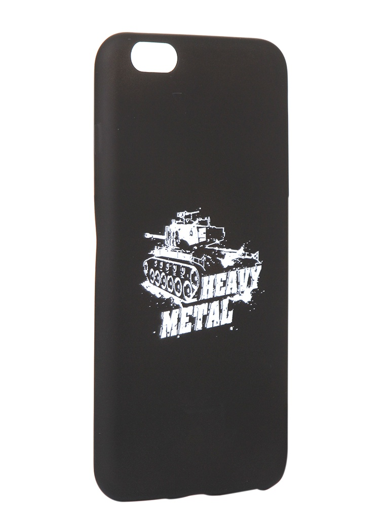Чехол Krutoff для APPLE iPhone 6/6S Plus Blitz Heavy Metal 1 10312