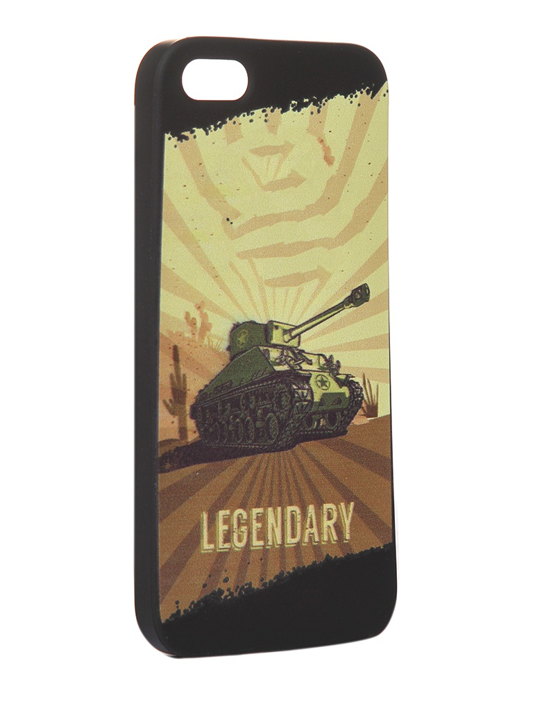 Чехол Krutoff для APPLE iPhone 5/5S/SE Blitz Legendary 3 10305