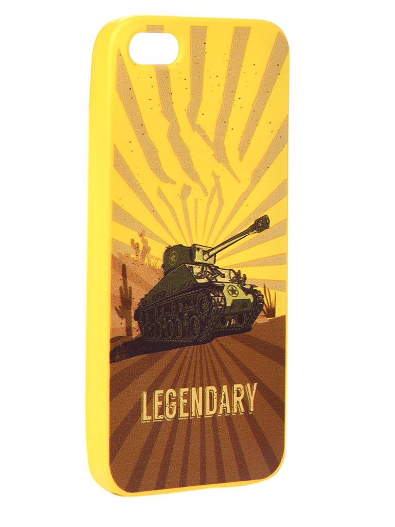 Чехол Krutoff для APPLE iPhone 5/5S/SE Blitz Legendary 2 10304