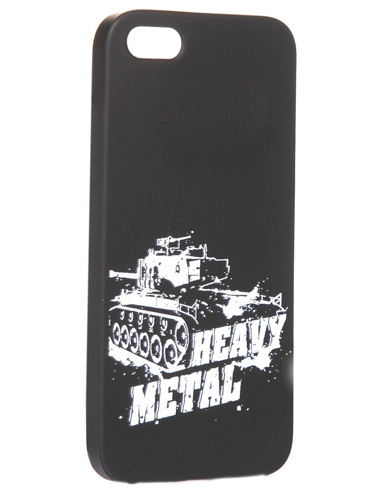 Чехол Krutoff для APPLE iPhone 5/5S/SE Blitz Heavy Metal 2 10301