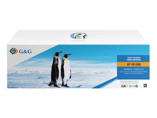 Картридж G&G NT-TK1200 для Kyocera M2235DN/M2735DN/M2835DW/P2335D/DN/DW 3000k